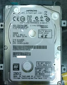 That's what I thought. A cheap, slow & not so shock resistant harddisk.